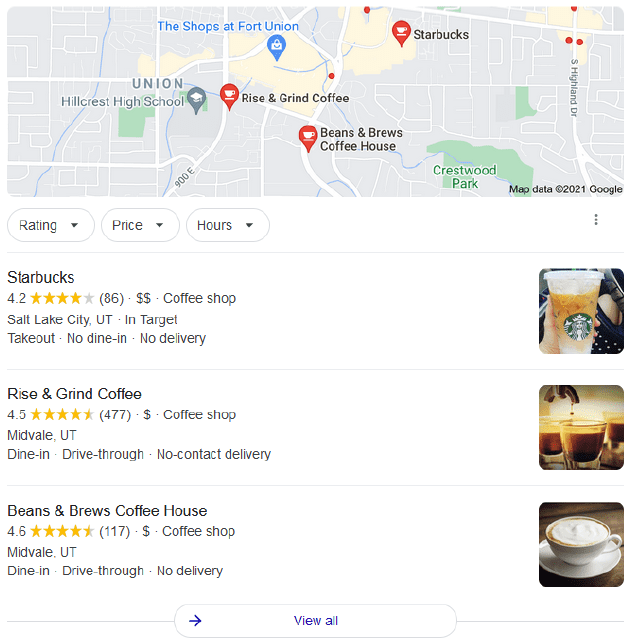 Local Search: Google 3 Pack